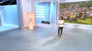 Estelle Denis lors du Tirage du Loto - 30/08/14 - 09
