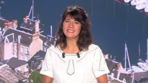Estelle Denis lors du Tirage du Loto - 30/08/14 - 10