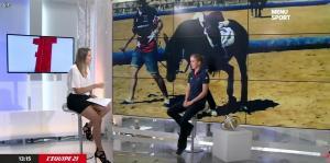 France Pierron dans Menu Sport - 03/09/14 - 05