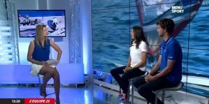 France Pierron dans Menu Sport - 05/09/14 - 06