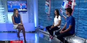France Pierron dans Menu Sport - 05/09/14 - 07