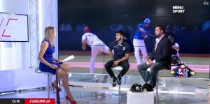 France Pierron dans Menu Sport - 08/09/14 - 10