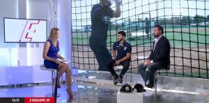 France Pierron dans Menu Sport - 08/09/14 - 12
