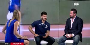 France Pierron dans Menu Sport - 08/09/14 - 18