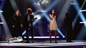 Jenifer Bartoli dans The Voice - 25/02/12 - 02