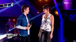 Jenifer Bartoli dans The Voice Kids - 23/08/14 - 11