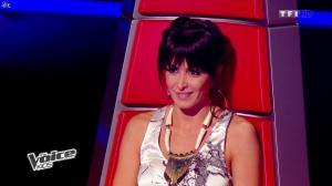 Jenifer Bartoli dans The Voice Kids - 23/08/14 - 12