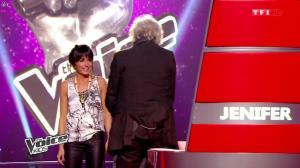 Jenifer Bartoli dans The Voice Kids - 23/08/14 - 13