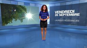 Laurence Roustandjee à la Météo - 26/09/14 - 01