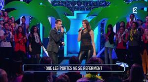 Laury Thilleman dans n'Oubliez pas les Paroles - 05/07/13 - 16