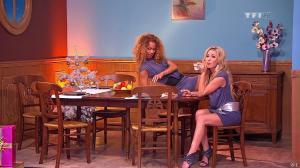 Les Gafettes, Doris Rouesne et Nadia Aydanne dans le Juste Prix - 04/01/11 - 10