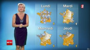 Nathalie Rihouet à la Météo de 20h - 02/08/14 - 02
