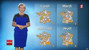 Nathalie Rihouet à la Météo de 20h - 09/08/14 - 02