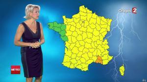 Nathalie Rihouet à la Météo de Minuit - 02/08/14 - 01