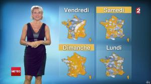 Nathalie Rihouet à la Météo de Minuit - 02/08/14 - 02