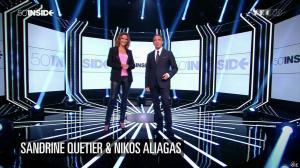 Sandrine Quétier dans 50 Minutes Inside - 20/09/14 - 02