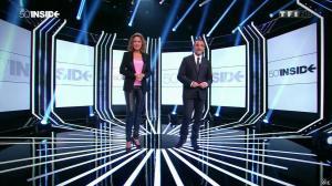 Sandrine Quétier dans 50 Minutes Inside - 20/09/14 - 12