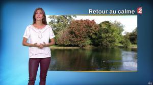 Tania Young à la Météo de Midi - 25/09/14 - 01