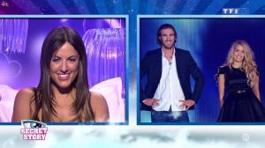 Claudia Romani et Mélanie dans Secret Story - 21/08/15 - 06