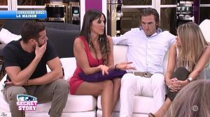 Claudia Romani dans Secret Story - 11/09/15 - 05
