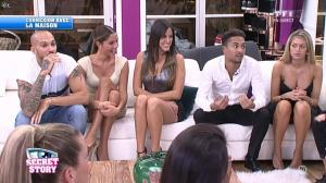 Claudia Romani dans Secret Story - 18/09/15 - 01