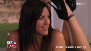 Claudia Romani dans Secret Story l'After - 22/08/15 - 03