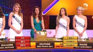 Delphine Wespiser dans à Prendre ou à Laisser - 04/09/15 - 05