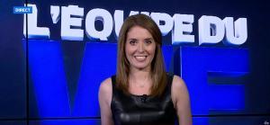 Elodie Poyade dans l'Equipe du Week-End - 19/09/15 - 08