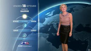 Evelyne Dhéliat à la Météo de 20h - 17/09/15 - 01