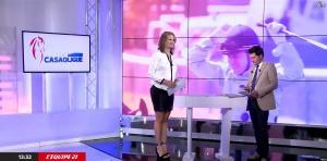 France Pierron dans Menu Sport - 10/08/15 - 04