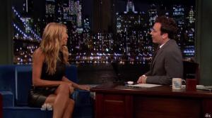Heidi Klum dans Late Night With Jimmy Fallon - 04/09/13 - 02