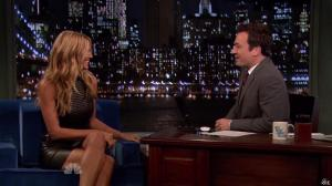Heidi Klum dans Late Night With Jimmy Fallon - 04/09/13 - 03