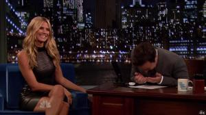 Heidi Klum dans Late Night With Jimmy Fallon - 04/09/13 - 04