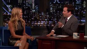 Heidi Klum dans Late Night With Jimmy Fallon - 04/09/13 - 05