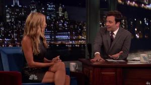 Heidi Klum dans Late Night With Jimmy Fallon - 04/09/13 - 09