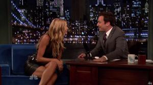 Heidi Klum dans Late Night With Jimmy Fallon - 04/09/13 - 10