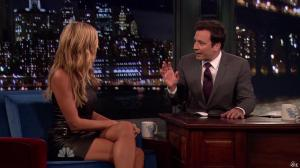 Heidi Klum dans Late Night With Jimmy Fallon - 04/09/13 - 11