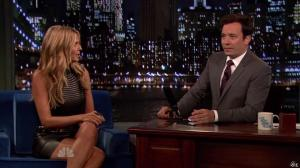 Heidi Klum dans Late Night With Jimmy Fallon - 04/09/13 - 12