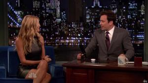 Heidi Klum dans Late Night With Jimmy Fallon - 04/09/13 - 15