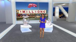 Laurie Cholewa dans Euro Millions - 07/08/15 - 04