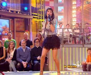 Lola Ponce dans Mai Dire Grande Fratello Show - 17/03/09 - 11