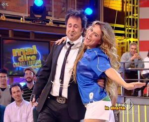 Lola Ponce dans Mai Dire Grande Fratello Show - 21/04/09 - 01