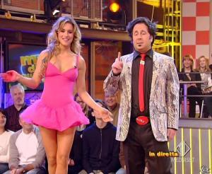 Lola Ponce dans Mai Dire Grande Fratello Show - 28/04/09 - 04