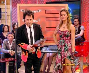 Lola Ponce dans Mai Dire Grande Fratello Show - 31/03/09 - 09