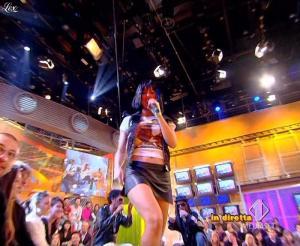 Lola Ponce dans Mai Dire Grande Fratello Show - 31/03/09 - 10