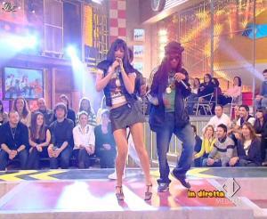 Lola Ponce dans Mai Dire Grande Fratello Show - 31/03/09 - 11