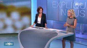 Nathalie Renoux et Vicky Bogaert dans le 19 45 - 06/09/15 - 02