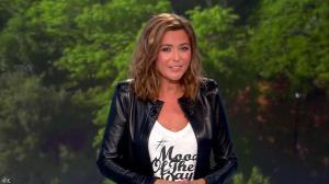 Sandrine Quétier lors du Tirage du Loto - 05/09/15 - 07