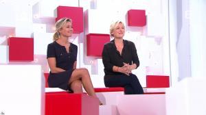 Anne-Sophie Lapix et Anne-Elisabeth Lemoine dans Vivement la télé - 02/10/16 - 02