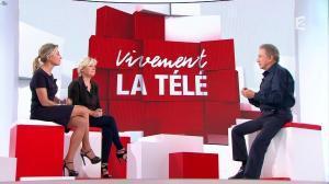 Anne-Sophie Lapix et Anne-Elisabeth Lemoine dans Vivement la télé - 02/10/16 - 04